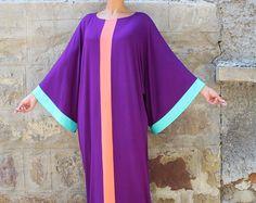 Black Maxi Dress Caftan Abaya Plus size от cherryblossomsdress
