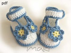 baby booties ballerina - Forget Me Not - Perfect for special occasion. Permission to sell finished items. Pattern No. 110 $3.00