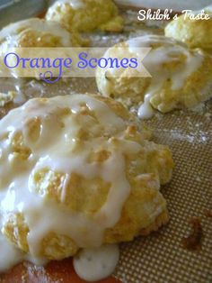 ... Scones on Pinterest | Cinnamon scones, Orange scones and Oatmeal