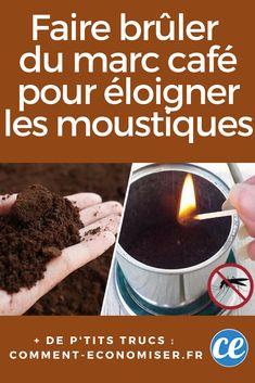 Débarrassez-Vous des Moustiques En Brûlant du Marc de Café. Voici Comment !