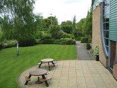 Our outside garden area! - Venue 360 - Riverside Events
