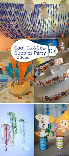 Cool Bubble Guppies Party Ideas!