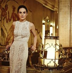 Michelle Dockery admits she is bored of Downton Abbey fans' shock over her estuary accent Allen Leech, Downton Abbey Cast, Downton Abbey Fashion, Michelle Dockery, Baby George, Radios, Interview, Lady In Waiting, Lady Mary
