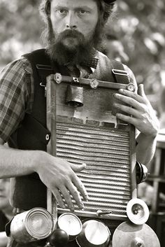 washboard player  We have people that make music on washboards in the OZARKS of Ar also CR
