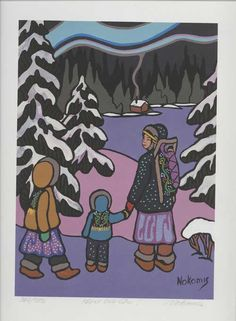 "Nokomis: algonquin ""grandmother"" who supplies the earth's riches and gives nourishment to humankind in times of need. Woodland Art, Distinguish Between, Animal Books, Indigenous Art, Gods And Goddesses, Illustration Art, Illustrations, Real People, Pagan"