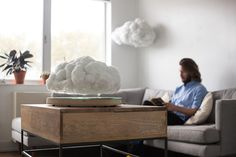 You Have to See This: Cloud-Shaped Speaker That (Really!) Floats — Design News