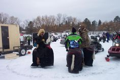 Eeelpout Fest, Walker MN - What a crazy fun time.