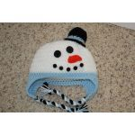 Adorable snowman hat! Visit madebymary.biz to order!