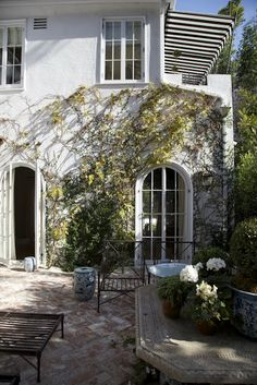 Habitually Chic®: Chic Hollywood Hills Home: Part I