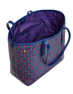 Little Marlborough Tote Bag in Iphis Canvas David Jones, Canvas Tote Bags, Louis Vuitton, Purple, Fashion, Fashion Styles, Purple Stuff, Fashion Illustrations, Trendy Fashion