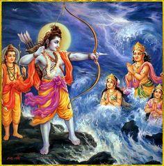Manifestations of the major Hindu deities Shiva Art, Krishna Art, Hindu Art, Lord Sri Rama, Hanuman Ji Wallpapers, Lord Rama Images, Krishna Statue, Hindu Deities, Hinduism