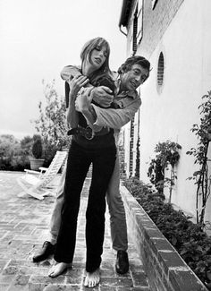 Serge Gainsbourg and Jane Birkin.