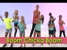 """Boom Chicka Boom is perfect for brain breaks! Boom Chicka Boom is a wonderful """"repeat after me"""" song and can be used not only as a brain break in the classroom, but in physical education classes to ge. Kindergarten Songs, Preschool Music, Brain Breaks For Kindergarten, Movement Activities, Book Activities, Physical Activities, Music Education, Physical Education, Character Education"""