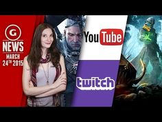 YouTube Taking On Twitch & Beards Grow In The Witcher 3?! - GS Daily News