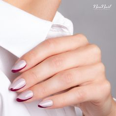 Blissful Moment & Cosy Shelter by NeoNail New French Manicure, French Nails, Gel Manicure, Pedicure, Nail Artist, In This Moment, Cosy, Shelter, Nailart