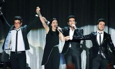 ⭐️IL VOLO⭐️ with Laura Pausini at Madison Square Garden, NYC Thursday, 3/6/2014