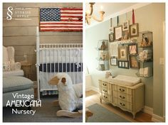 Room Tour: A Vintage Americana Nursery | A Storied Style | A design blog dedicated to sharing the stories behind the styles we create.