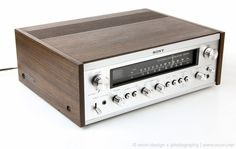 MINT VINTAGE SONY STR-7035 STEREO RECEIVER AMPLIFIER WOOD CASE PHONO IN JAPAN 75…