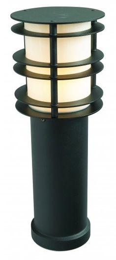 NORLYS Stockholm black 490mm bollard - Price: $579.00 AUD
