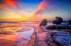 The Morning Lands, Turimetta Beach Gods Creation, Monument Valley, United Kingdom, England, Sunset, Landscape, Awesome, Beach, Nature