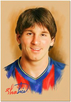 Lionel Messi by shahin