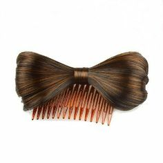 Hair Extension Lady Gaga Bowknot Comb Clip Fashion Hairpiece Party by MAYSU. $5.99. Package:1x Bow Hair Extension. Length:12(±2cm). Color:LIGHT BROWN   ,Color Shown: (Color may vary by monitor.). Style:Clip-on, Extension. Material: Synthetic. Girls should never stop your steps for pursuing for beauty and fascinations since people all over the world have an inherent interest for perfection.  To a great extent, a brand-new look can not only set off your distinctive personality,...