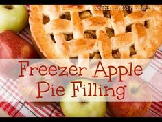 Freezer Apple Pie Filling + Video Tutorial - Graceful Little Honey Bee