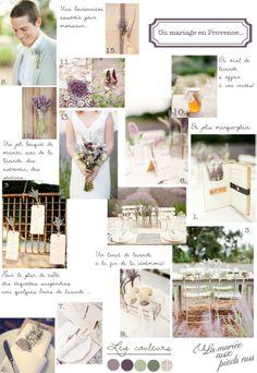 Carnet d'inspiration {un mariage en Provence} par #lamarieeauxpiedsnus #wedding #provence  Crédits photos/ Sources: 1, et 3 à 10.KT Merry /2. Style me Pretty / 11. Three Nails Photography / 12. Pinterest / 13. hwtm  /14. KT Merry / 15. Pinterest