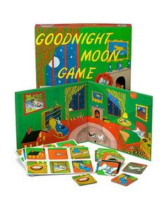 """Families who read """"Goodnight Moon"""" together before bed can't miss this game, inspired by the popular children's book! Click above to buy it."""
