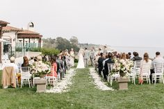 Read More on SMP: http://www.stylemepretty.com/2015/03/24/romantic-pastel-santa-barbara-wedding/