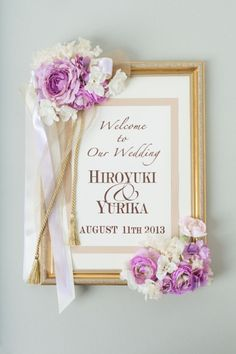 Wedding Item | AYANO TACHIHARA Wedding Design