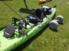 Have a fishing kayak