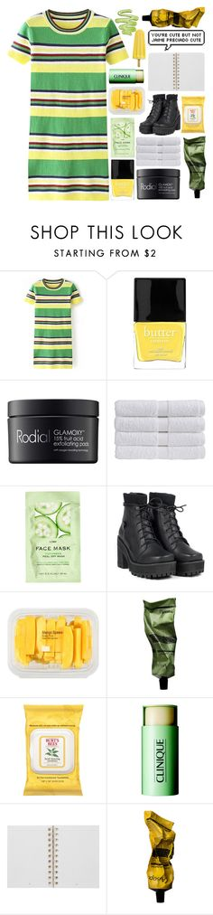 """youre a cold air creeping through"" by xxharrietxx ❤ liked on Polyvore featuring moda, Butter London, Rodial, Christy, H&M, MANGO, Aesop, Burt's Bees, Clinique y Mulberry"