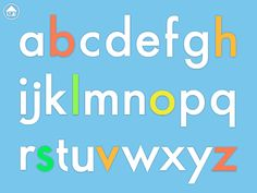 Extras - ABC Phonics - the greener the letters the better!