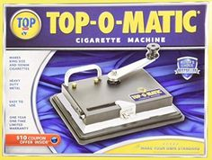 New Top-O-Matic Cigarette Rolling Machine Pink Cigarettes, Newport Cigarettes, Cigarette Rolling Machine, Easy Rolls, Thing 1, Best Rated, Cigarette Case, Making Machine, Cleaning Kit
