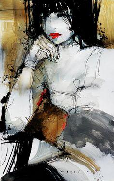 Cromofora La ( Paloma) Contemporary Art Gallery/Magazine: VIKTOR SHELEG
