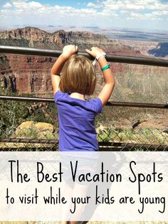 10 Best Vacation Spots to Visit Before Your Kids Grow Up! Best vacation spots for kids, and the top 10 family vacation destinations you've got to take them to while they are still young. Best Vacation Spots, Best Family Vacations, Vacation Trips, Dream Vacations, Family Travel, Best Vacations With Toddlers, Family Trips, Family Getaways, Summer Vacation Ideas