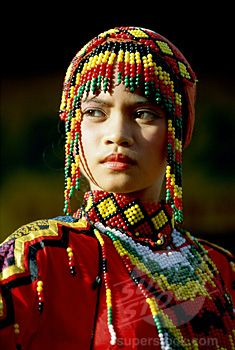 Philippines | Gaddang tribe woman of Luzon at the Sinulog Festival Cebu | © Patrick N Lucero