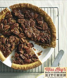 Pecan Pie from Miss Kay's Duck Commander Kitchen #Recipes #Cookbook #DuckDynasty #FreeBook
