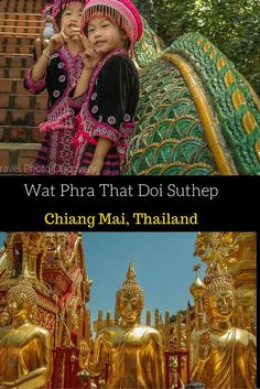Visiting Wat Phra That Doi Suthep - the most dazzling and iconic temple on a hill just on the outskirts of Chiang Mai. A must visit temple with amazing views and stunning temples, visuals and places to discover in this sacred site of Northern Thailand http://travelphotodiscovery.com/visiting-wat-phra-that-doi-suthep/