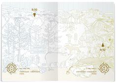 The Norwegian Passport — Gilles & Cecilie Studio Environmental Design, Pitch, Passport, Norway, Congratulations, Vintage World Maps, Tapestry, Studio, Proposal