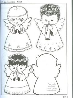 bábätko vrcholy HELP !! Christmas Angels, Kids Christmas, Christmas Crafts, Christmas Decorations, Christmas Ornaments, Angel Coloring Pages, Colouring Pages, Coloring Books, Angel Crafts
