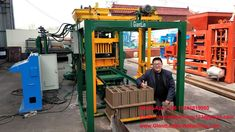Automatic block machine for 6 inch block and pavers can produce sizes of hollow block, solid brick, hourdis, interlocking pavers and curbstone by changing molds