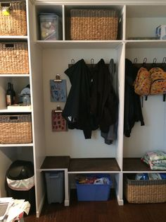 The making of our new mud room Mudroom, Drake, Entryway, Furniture, Home Decor, Entrance, Decoration Home, Room Decor, Door Entry