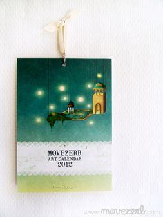 Calendar by movezerb #DaWanda.com