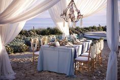 beach wedding reception elegance, LBPS, photo Tim Halberg