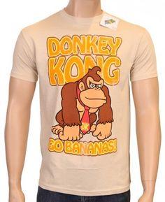 Camiseta de Donkey Kong Super Mario Bros #regalo #arte #geek #camiseta
