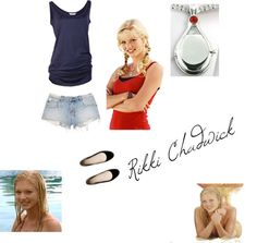 Designer Clothes, Shoes & Bags for Women Rikki H2o, Cariba Heine, H2o Mermaids, Pokemon Backgrounds, Mermaid Outfit, Character Inspired Outfits, Avan Jogia, Teenage Girl Outfits, Glee