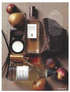 Fragrance story prop styled by Cindy DiPrima