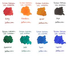 Pelikan Edelstein Fountain Pen Ink Collection http://www.jetpens.com/Pelikan-Edelstein-Fountain-Pen-Ink-Collection/ct/1768